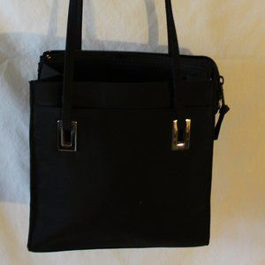 Women's Kathy Ireland Black Shoulder Purse Handbag